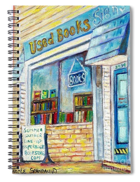 The Paperbacks Plus Book Store St Paul Minnesota Spiral Notebook