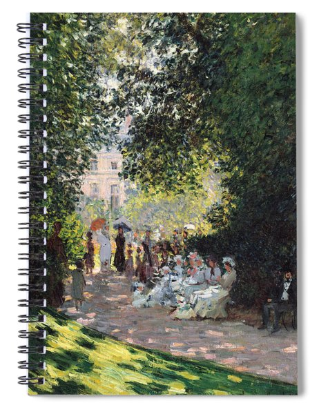 The Parc Monceau Spiral Notebook