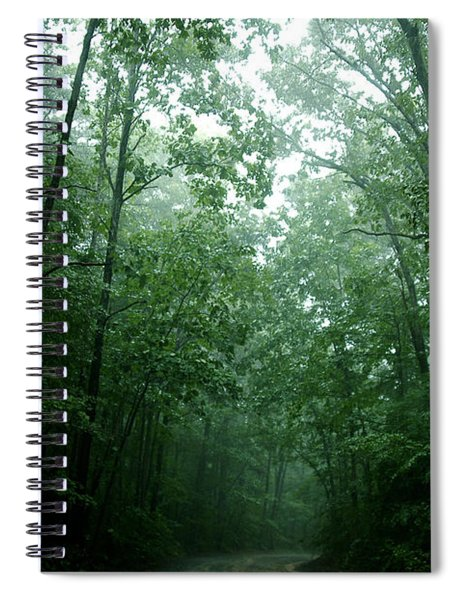 The Path Ahead Spiral Notebook