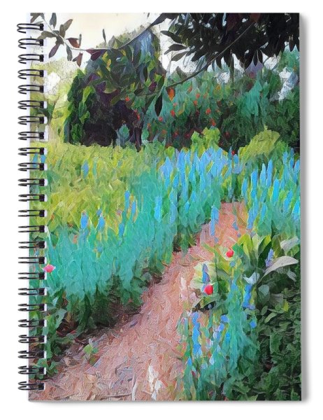 The Path Less Traveled Spiral Notebook