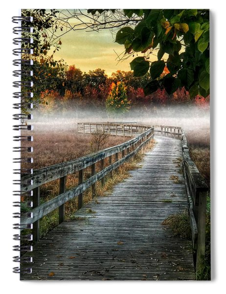 The Peaceful Path Spiral Notebook