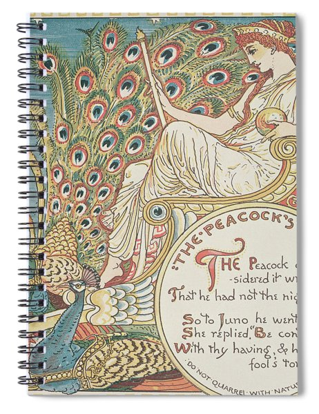 The Peacocks Complaint Spiral Notebook