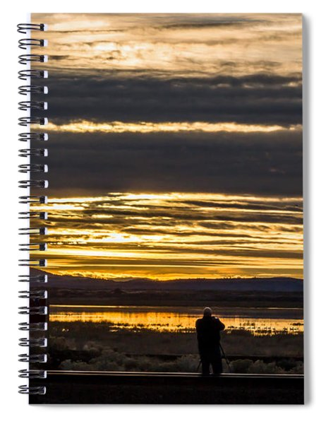 The Perfect Shot Spiral Notebook