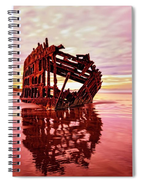 Peter Iredale Fantasy Spiral Notebook