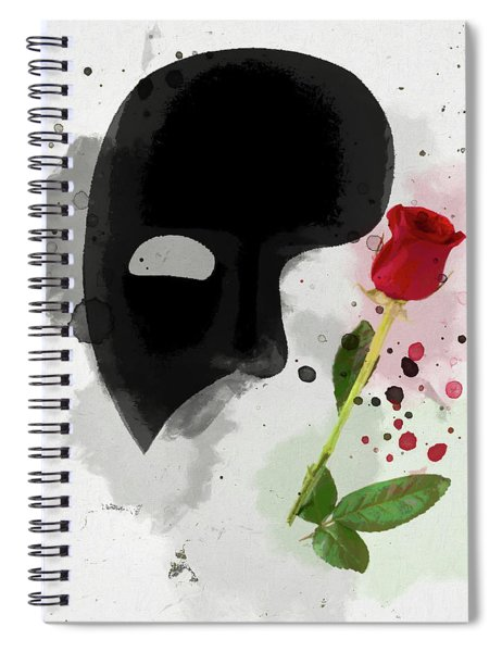 The Phantom Of The Opera Spiral Notebook