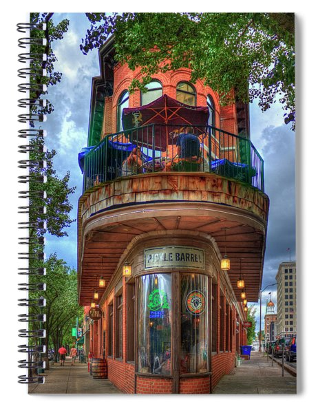 The Pickle Barrel Chattanooga Tn Art Spiral Notebook