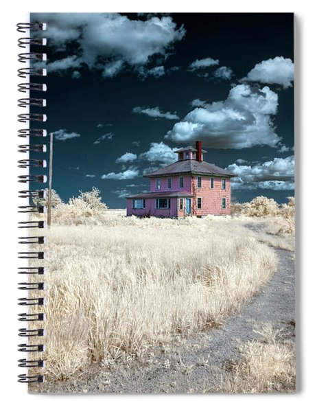 The Pink House In Halespectrum 1 Spiral Notebook