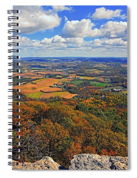 The Pinnacle On Pa At Spiral Notebook