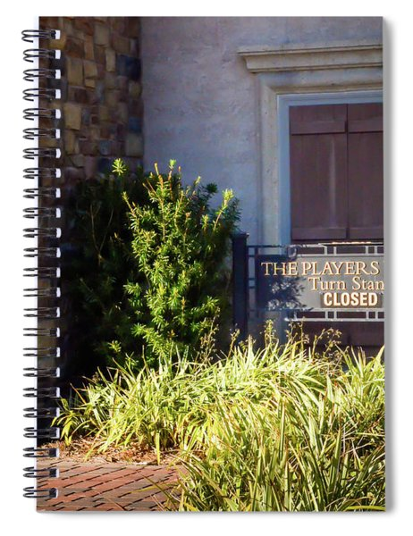 The Players Stadium Turn Stand Spiral Notebook
