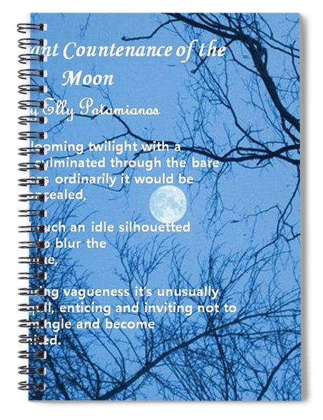 The Pleasant Countenance Of The Moon Spiral Notebook