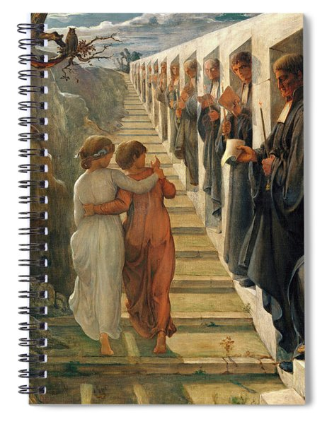 The Poem Of The Soul - The Wrong Path Spiral Notebook