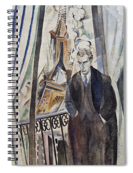 The Poet Philippe Soupault Spiral Notebook