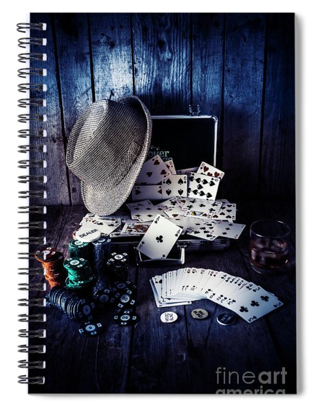 The Poker Ace Spiral Notebook
