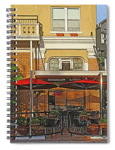 The Ponce De Leon Hotel Spiral Notebook