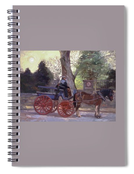 The Pony Trappe Spiral Notebook