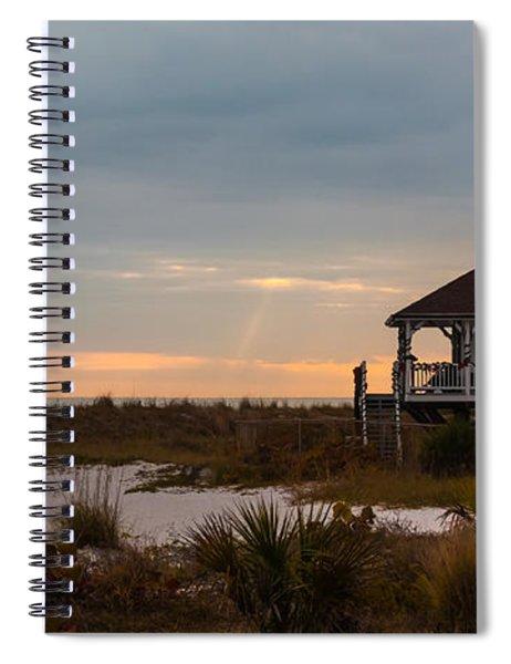 The Port Boca Grande Lighthouse Spiral Notebook by Ed Gleichman