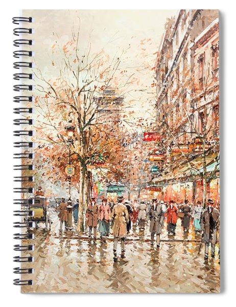 The Porte Saint-denis Spiral Notebook