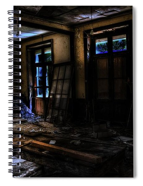 The Portrait  Spiral Notebook by Movie Poster Prints