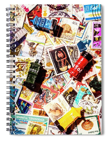 The Postbox Collector Spiral Notebook