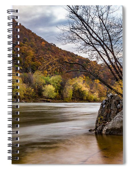 The Shenandoah In Autumn Spiral Notebook