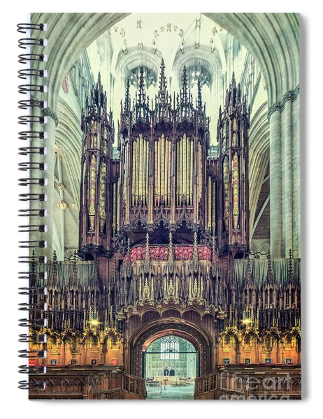 The Power Of Music  Spiral Notebook