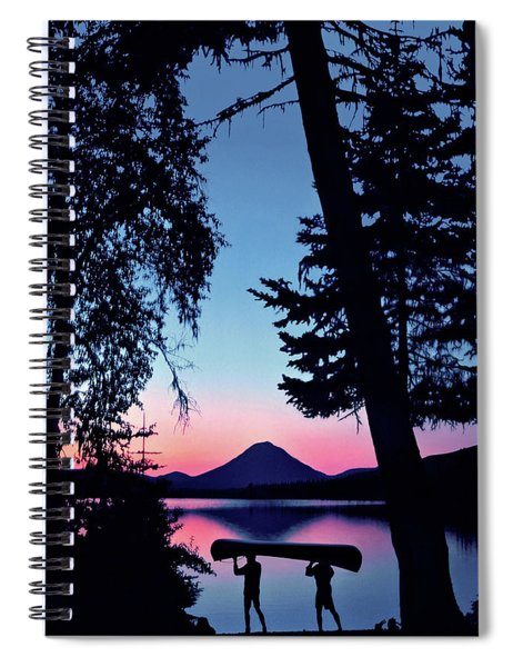 The Power Of Two Spiral Notebook