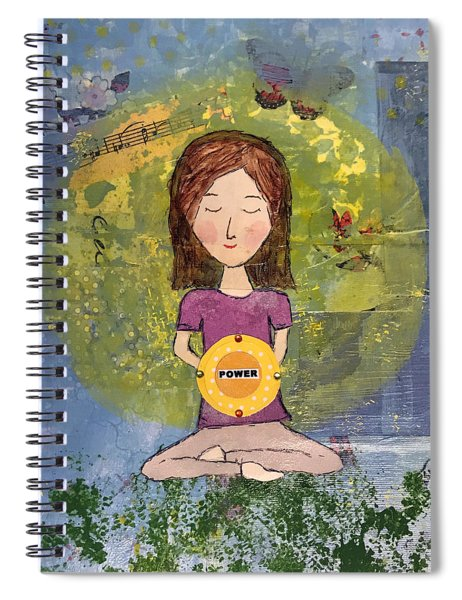 The Power Within Spiral Notebook
