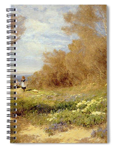 The Primrose Gatherers Spiral Notebook