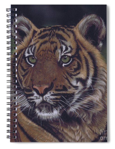 The Prince Of The Jungle Spiral Notebook