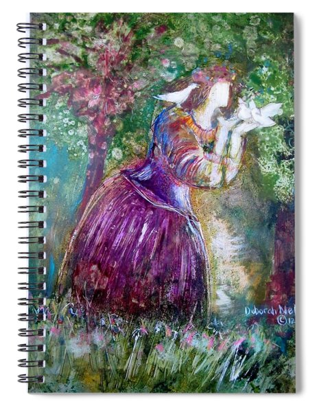 The Princess And The Birds Spiral Notebook