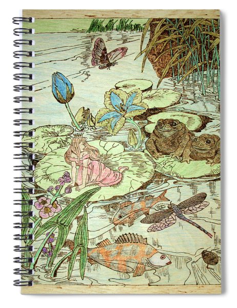The Princess And The Frogs Spiral Notebook