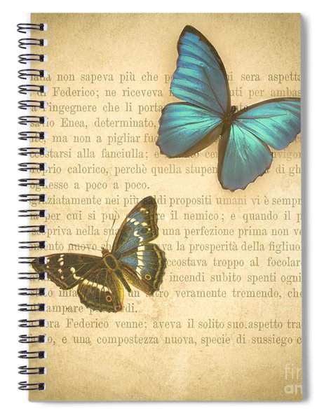 The Printed Page 3 Spiral Notebook