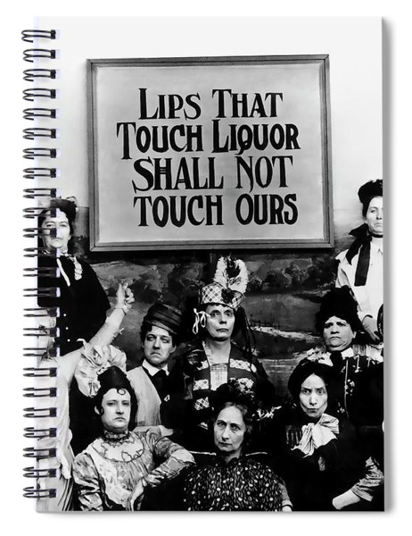 The Prohibition Temperance League 1920 Spiral Notebook