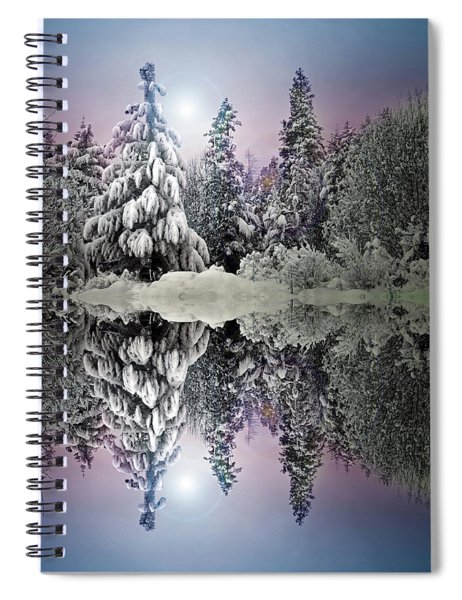 The Promises That Winter Brings Spiral Notebook