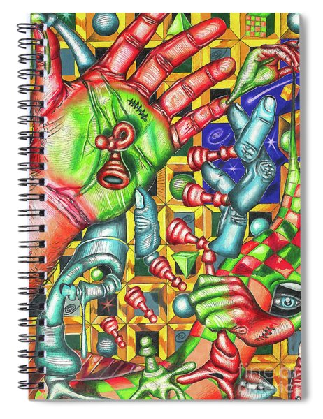 The Quantum Mechanics Of Chess And Life Spiral Notebook
