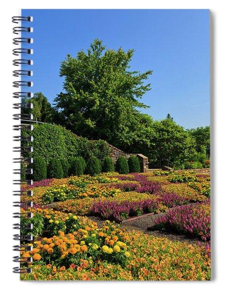 The Quilt Garden Spiral Notebook