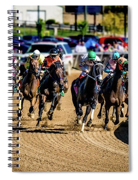 The Race Spiral Notebook