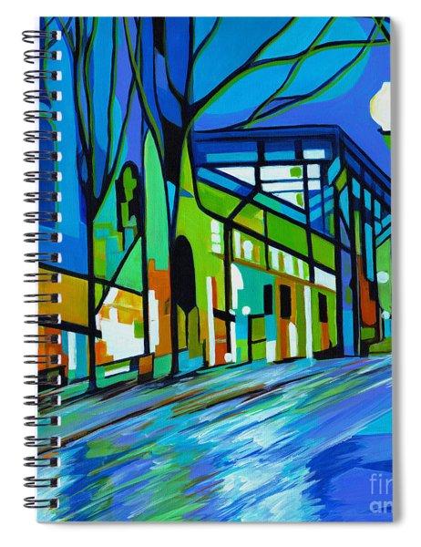 The Rain Song Spiral Notebook