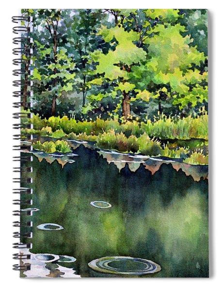 The Rainfisher Spiral Notebook