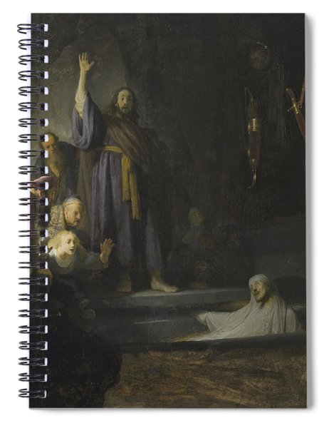 The Raising Of Lazarus Spiral Notebook