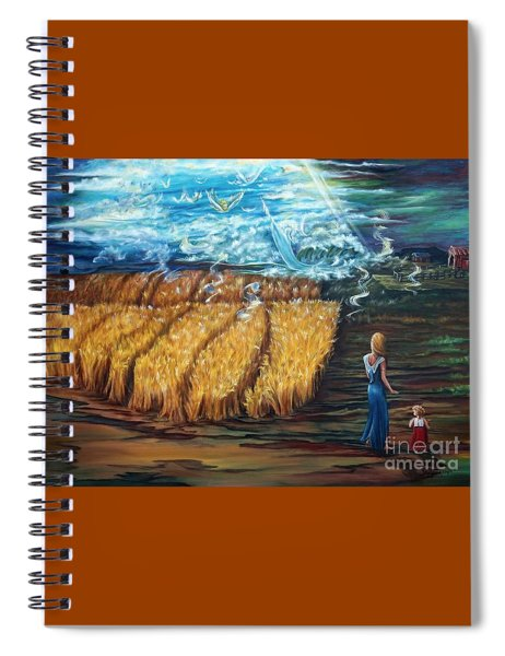 The Rapture Spiral Notebook