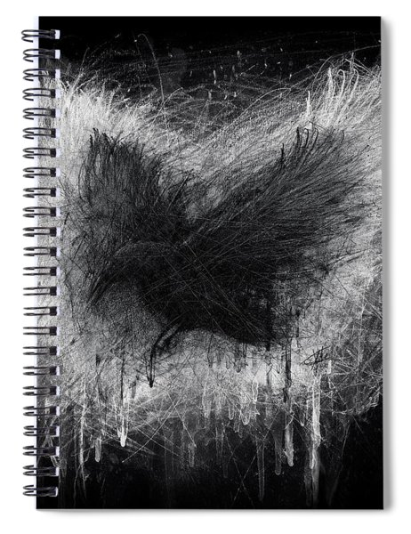 The Raven - Black Edition Spiral Notebook