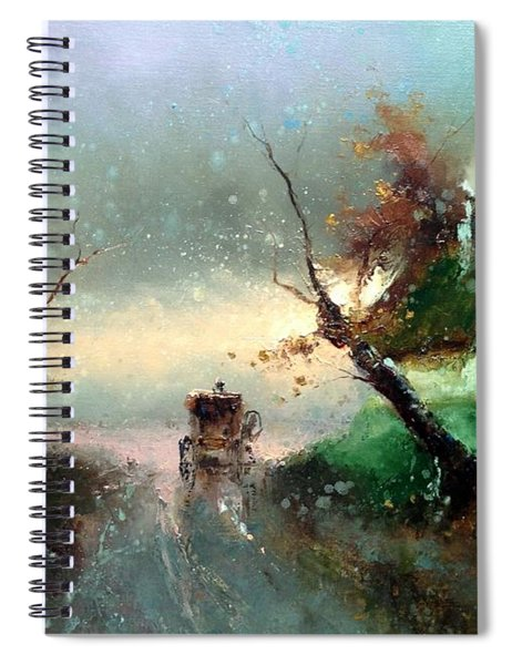 The Rays Of The Morning Sun Spiral Notebook
