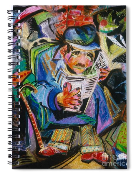 The Reader Spiral Notebook