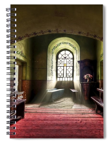 The Reading Room Spiral Notebook