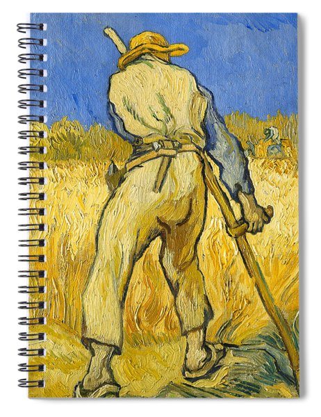 The Reaper Spiral Notebook