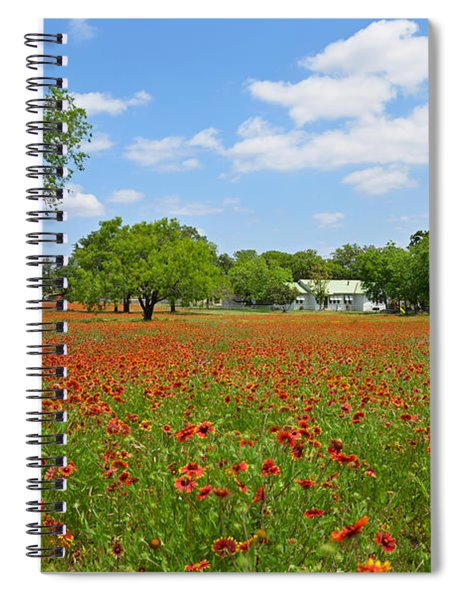 The Red Carpet Spiral Notebook