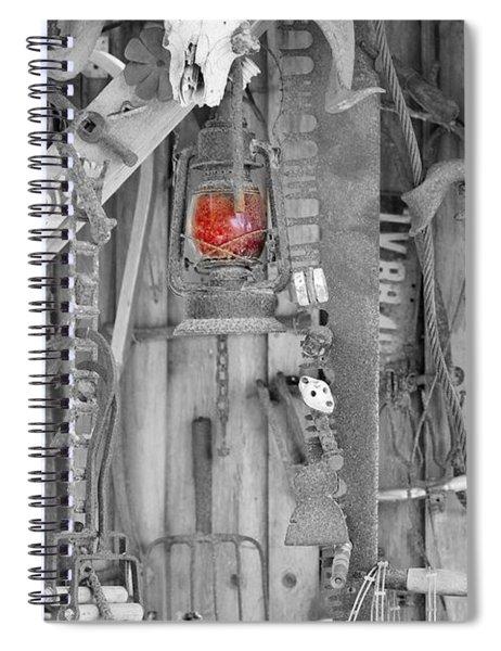 The Red Lantern Spiral Notebook