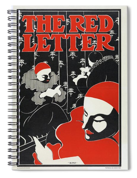 The Red Letter Spiral Notebook
