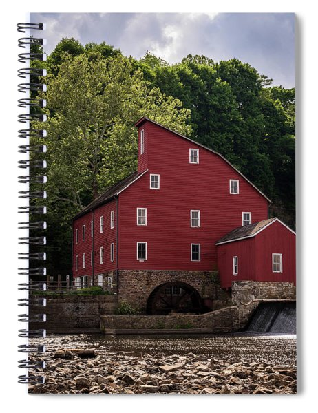 The Red Mill New Jersey Spiral Notebook